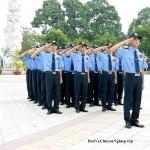 Hình ảnh đội ngũ nhân viên bảo vệ tại Hải Dương