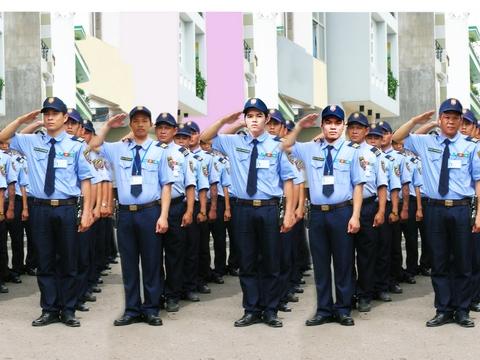 hình ảnh nhân viên bảo vệ tại Hà Nam