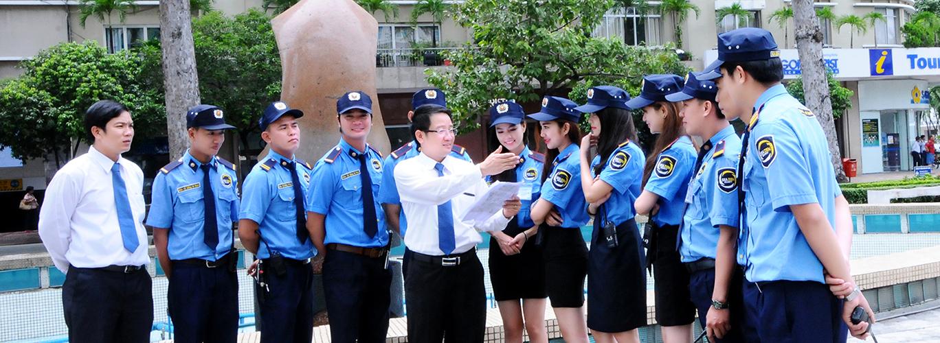 Hình ảnh hướng dẫn nhân viên bảo vệ Hưng Yên